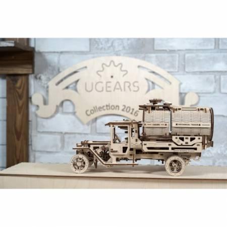 Ugears Модель Топливозаправщика