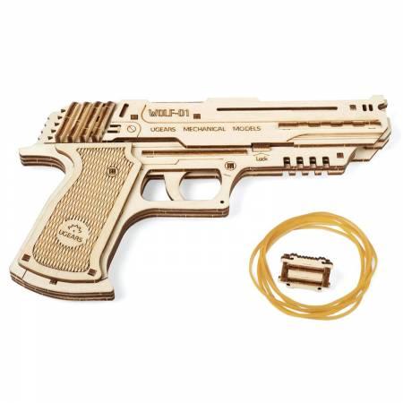Ugears Пистолет Вольф-01